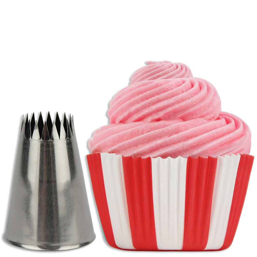 Image of French Cupcake Decorating Tip #869
