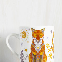 Force of Habitat Mug in Fox | Mod Retro Vintage Kitchen | ModCloth.com