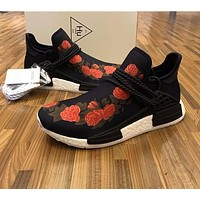 GUCCI x Pharrell Williams x Adidas PW HU Human Race NMD Boost Sport Running Shoes Classic Casual Shoes Sneakers