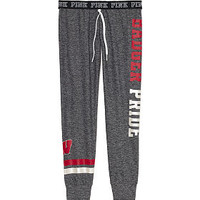 University of Wisconsin Ultimate Gym Pant - PINK - Victoria's Secret