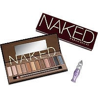 Urban Decay Cosmetics Naked Palette w/ Brush Ulta.com - Cosmetics, Fragrance, Salon and Beauty Gifts