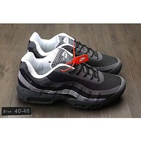 Nike AIR MAX 95 Popular Men Casual All Air Cushion Sport Running Shoe Sneakers Black White I-CQ-YDX