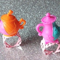 Mad Tea Party - Teapot Rings - Your Choice from On Secret Wings