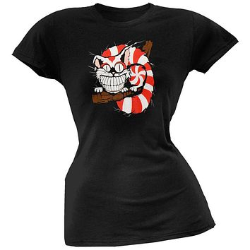 Alice In Wonderland - Cheshire Cat Juniors T-Shirt