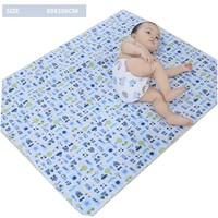 4 Size Changing Pad Baby Nappies Diaper Changing Mat Baby Cloth Diapers Baby Waterproof Diapers