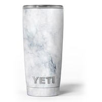 Slate Marble Surface V6 - Skin Decal Vinyl Wrap Kit compatible with the Yeti Rambler Cooler Tumbler Cups