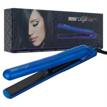 HAIR Rage Pro Salon Model Flat Iron - Indigo