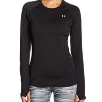 Under Armour Women's ColdGear Cozy Crew, White (100), Medium