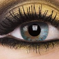 Natural Turquoise Colour Contact Lenses, Natural Turquoise Colour Lens | EyesBright.com
