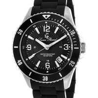 Lucien Piccard Men's Men's Mocassino Stainless Steel Watch - Black