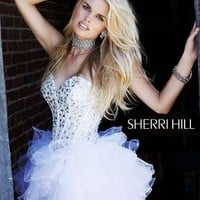 Sherri Hill 2925  Sherri Hill amandalinas specializing in bridal gowns, evening wear , prom dresses, mother of the bride and groom dresses,