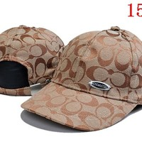 COACH  embroidery Strap Cap Adjustable Golf Snapback Baseball Hat