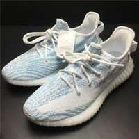 Adidas Yeezy Boost 350 V2 Blue Women Men Fashion Trending Running Sneakers
