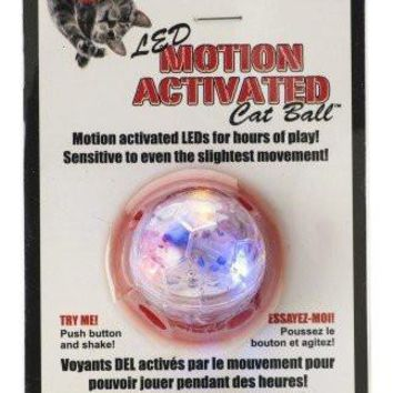 Spotbrites LED Motion Activated Cat Ball Toy