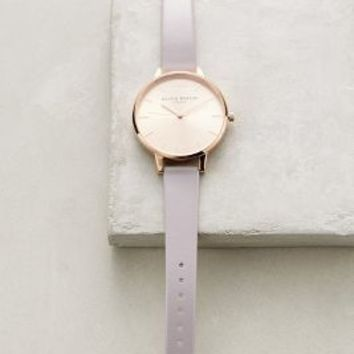 Olivia Burton Big Dial Lilac Watch in Lilac Size: One Size Watches