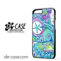 Lily Pulitzer Flower And Fish DEAL-6526 Apple Phonecase Cover For Iphone 6 / 6S