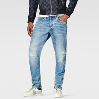 Raw For The Oceans - type C 3d Tapered Jeans