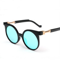Fashion round-framed outdoors sunglasses