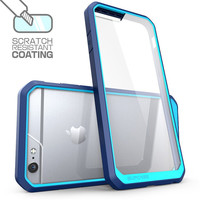 Hybrid Protective Cover For iPhone 6S Case Silicone Frame Transparent Clear Case For Coque iPhone 6 6S Plus 7 7 Plus Phone Cases