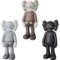 8 Inch KAWS Brian VOGUE OriginalFake Art Toys BFF Street Art PVC Action Figure Collectible Model Toy 7 Color OPP Bag S156