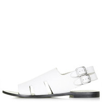 FRUITY Cut-Out Sandals - White