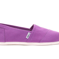 DAHLIA PURPLE CANVAS WOMEN'S CLASSICS