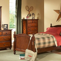 Dallas Twin Size Panel Bed