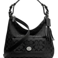 COACH LEGACY COURTENAY HOBO SHOULDER BAG IN SIGNATURE