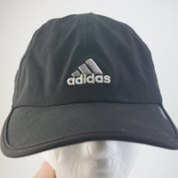 Adidas 90s dad hat cap 1990s nylon black club wear