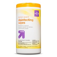 up & up™ Disinfecting Wipes - Lemon Scent - 75 ct