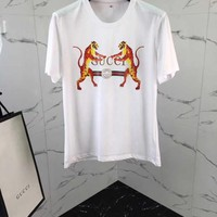 NEW 100% Authentic gucci 2018ss tiger t shirt   ※011