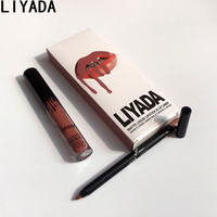 2017 hot new matte liquid lipstick waterproof kyli cosmetics kit