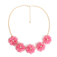 Fashion Stylish Classy Best Gift for Lovers Birthday Anniversary Valentines Christmas  2016 Trending Fashion Stylish Classy Best Gift for Lovers Birthday Anniversary Valentines Christmas  Women Floral  Necklace Collarbone Chain _ 8588