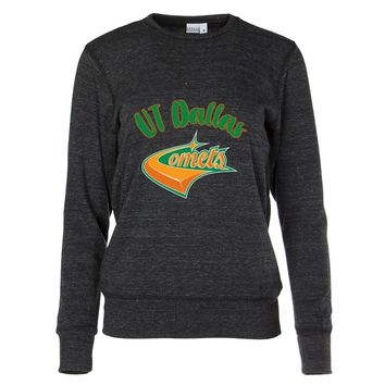 Official NCAA University of Texas at Dallas Comets Women's Crew Neck Sweatshirt