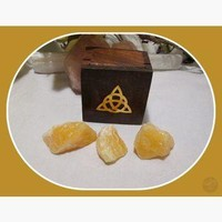"""Spiritual Realm"" Orange Calcite Travel Set"
