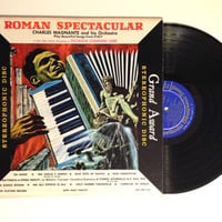 LP Album Roman Spectacular Charles Magnante And His Orchestra Play Beautiful Songs From Italy Vinyl Record Accordion Tunes