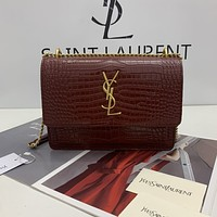 ysl women leather shoulder bags satchel tote bag handbag shopping leather tote crossbody 149