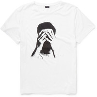 PS by Paul SmithPrinted Cotton and Modal-Blend T-Shirt|MR PORTER