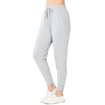 Women's French Terry Jogger Sweatpants with Pockets