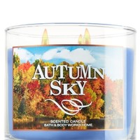 3-Wick Candle Autumn Sky