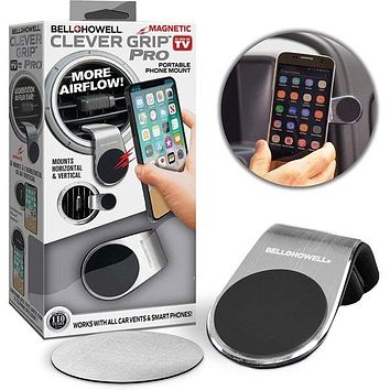 Bell + Howell Clever Grip Pro Magnetic Car Mount