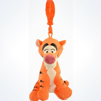 Disney Parks Tigger From Winnie The Pooh Keychain Plush New With Tags