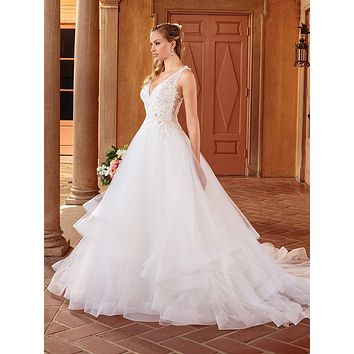 Casablanca 2314 Birdie Full A-line Lace Wedding Dress