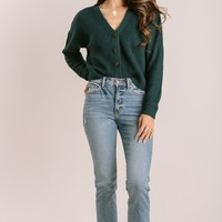 Ainsley Button Down Cropped Cardigan