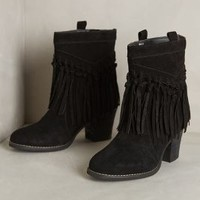 Knotted Fringe Booties by Sbicca