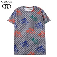 GUCCI & Disney Summer New Fashion More Letter Print Women Men Top T-Shirt