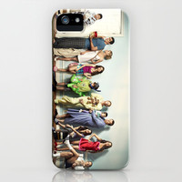Modern Family iPhone Case by Rorzzer