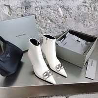 Balenciaga BB Leather Booties
