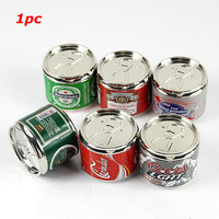 Pop Can Shaped Herbal Herb Tobacco Grinder Smoke Crusher Hand Muller Magnetic