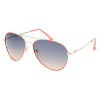 Full Tilt Alibi Sunglasses Pink One Size For Women 21178835001